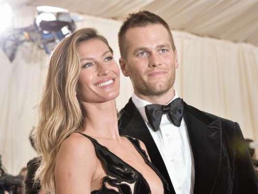 Gisele Bündchen e Tom Brady estão curtindo férias no Qatar
