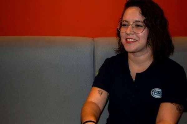 Natália Lara é uma das candidatas do 'Narra quem sabe'