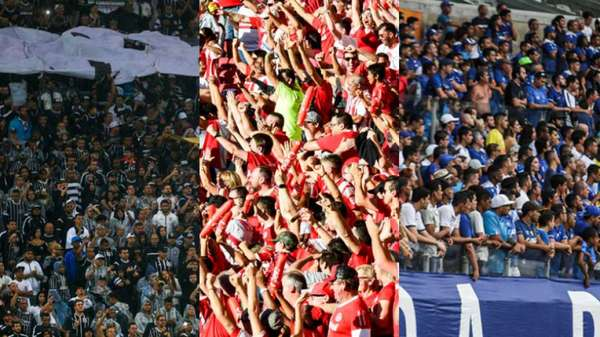 Com quase 30 mil pagantes em Itaquera, o Corinthians teve o melhor público da primeira rodada do Brasileirão, seguido dos jogos de Internacional e Cruzeiro. A média de público dos dez jogos foi de 12.950 pagantes... Confira!