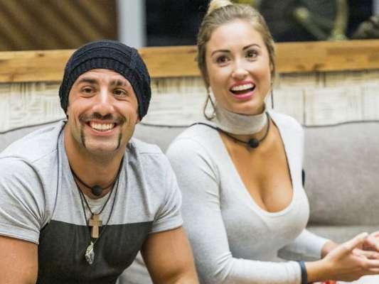 Kaysar despistou sobre romance com Jéssica fora do 'BBB18'