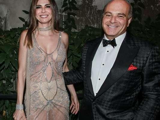 Ex-marido de Luciana Gimenez, Marcelo de Carvalho está namorando Simone Abdelnour