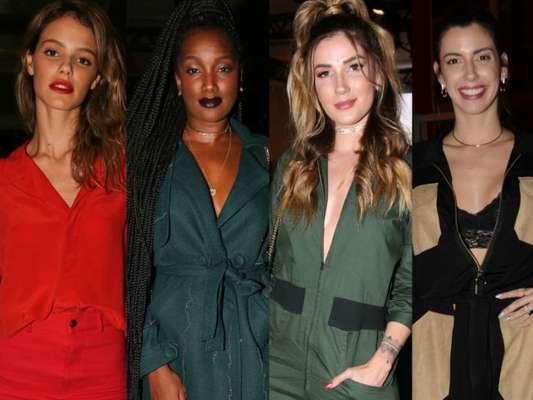 Diversidade de estilos marca look de famosas na SPFW, encerrada nesta quinta-feira, dia 26 de abril de 2018