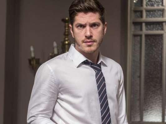 Bruno (Caio Paduan) será acusado de armar contra Sophia (Marieta Severo) na novela 'O Outro Lado do Paraíso'