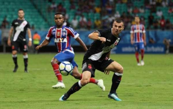Confira a seguir a galeria especial do LANCE! com imagens da partida entre Bahia e Vasco nesta quarta-feira