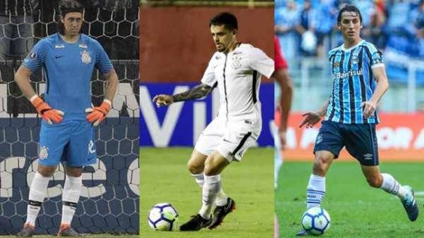 Cássio, Fagner e Geromel serão os representantes de clubes brasileiros na Copa do Mundo da Rússia