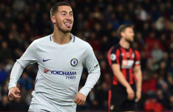 Veja imagens de Hazard pelo Chelsea