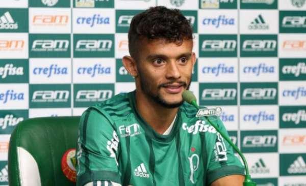 Gustavo Scarpa fez oito jogos e dois gols pelo Palmeiras