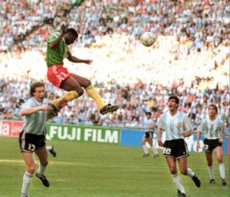Camarões derrotou a Argentina na estreia e chegou às quartas em 90