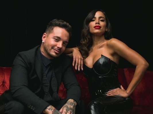 Anitta ganhou dois prêmios pela música 'Downtown', parceria com o colombiano J Balvin