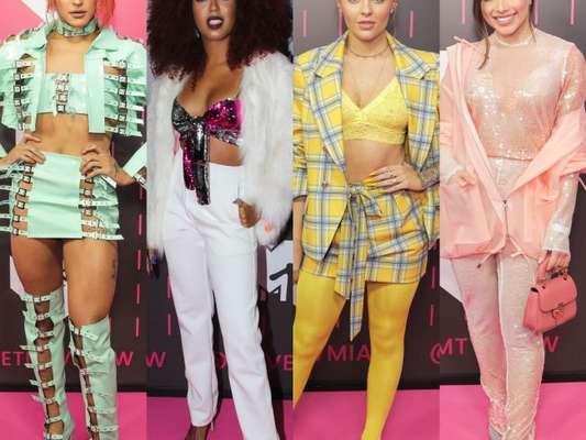 Pabllo Vittar, Lellêzinha, Luísa Sonza e Flavia Pavanelli exibiram looks que são a cara da geração Millenial no MTV MIAW 2018. Veja todas as produções das famosas no evento!