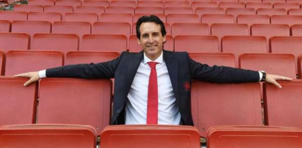 Unai Emery no Arsenal