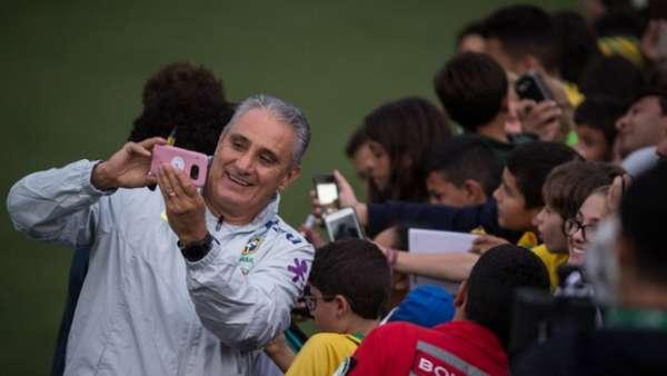 Treino da Seleção Brasileira nesta sexta-feira (25)