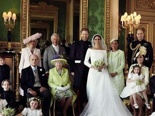 A rainha Elizabeth II presenteou o neto, príncipe Harry, e Meghan Markle com uma mansão em Londres