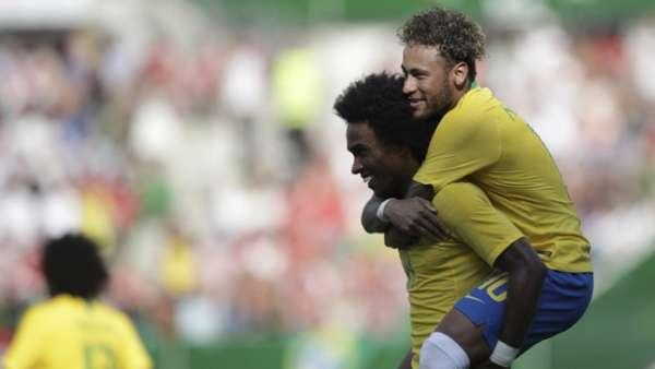 Áustria 0x3 Brasil