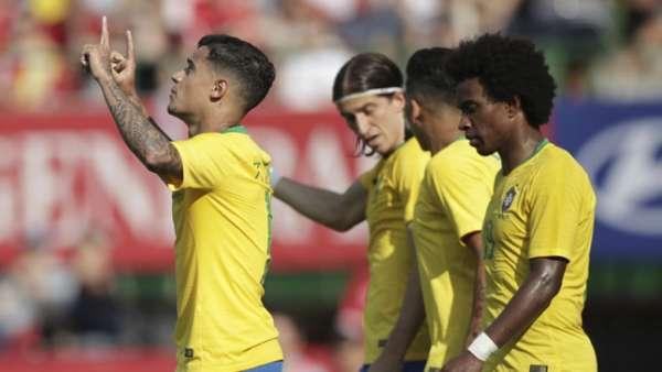 Brasil venceu bem seu amistoso contra a Áustria