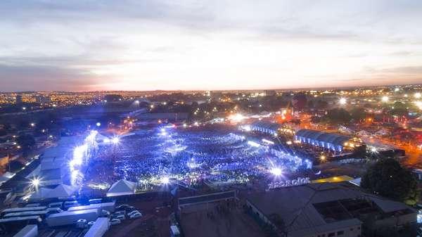 Festival reuniu cerca de 60 mil pessoas
