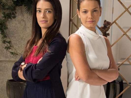 Débora (Lisandra Cortez) vai até a casa de Luísa (Milena Toscano) e diz para ela ficar longe de Marcelo(Murilo Cezar), no capítulo que vai ao ar quarta-feira, dia 26 de junho de 2018, na novela 'As Aventuras de Poliana'
