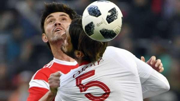 No último amistoso antes da Copa, Rússia empatou por 1 a 1 com a Turquia