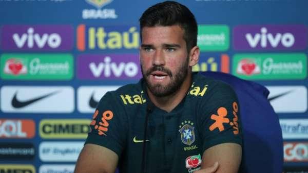 Alisson está com a Seleção Brasileira para a disputa da Copa do Mundo