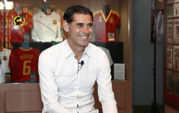 Hierro foi apresentado como novo técnico da seleção espanhola