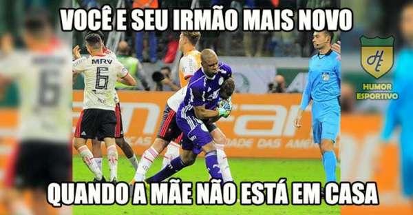 Memes: Palmeiras 1 x 1 Flamengo