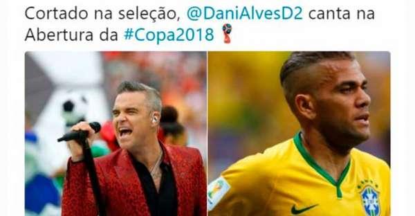 Humor na Copa: os memes da Cerimônia de Abertura