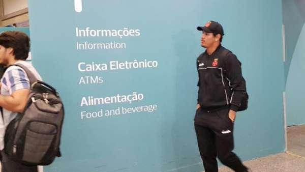 Vasco chegou nesta quinta-feira ao Rio de Janeiro. Confira a seguir a galeria especial do LANCE!