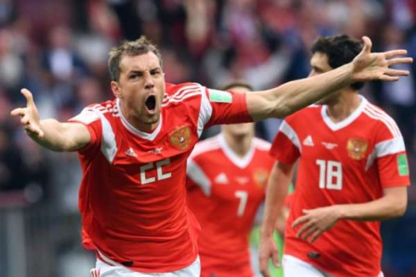 A goleada de 5 a 0 da Rússia sobre a Arábia Saudita, se tornou a maior goleada em estreia desde 1966