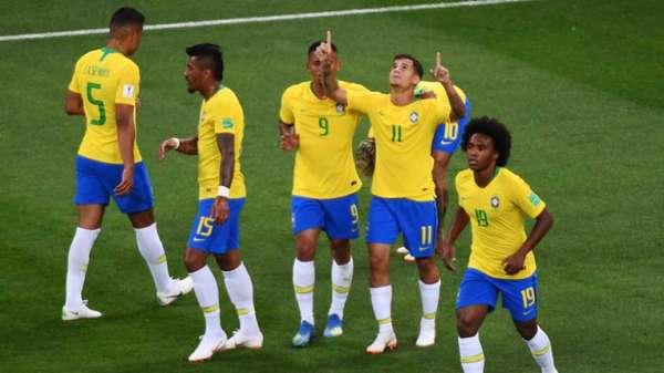 Brasil empatou com a Suíça e divide segunda colocação com os europeus