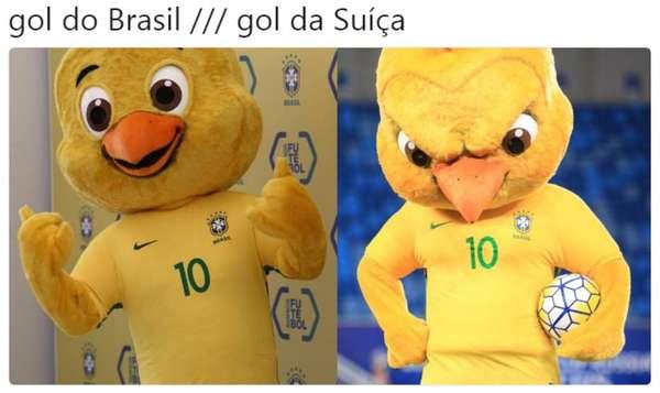 Os melhores memes do empate do Brasil com a Suíça - Após o empate do Brasil em 1 a 1 com a Suíça, válido pela estreia da seleção na Copa do Mundo, os internautas usaram a criatividade mais uma vez para criar diversos memes. Os assuntos são variados: comemorações, reclamações e piadas.