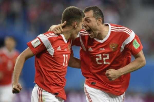 Rússia 3 x 1 Egito