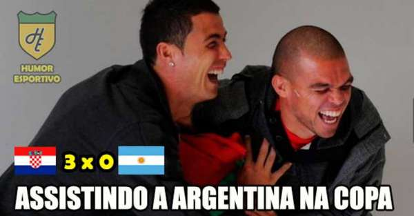 Humor na Copa: os memes de Croácia 3-0 Argentina