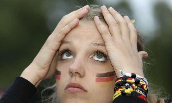Do sofrimento à alegria: os alemães vivem jogo de altas emoções contra a Suécia neste sábado (23) pela Copa