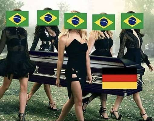 Alemanha eliminada - A seleção da Alemanha foi eliminada precocemente da Copa do Mundo nesta quarta-feira. Atual campeã do mundo, a equipe europeia perdeu para a Coreia do Sul por 2 a 0 e precisava pelo menos de um empate com uma combinação de resultados para se classificar às oitavas de final. Com isso, os brasileiros não perdoaram e relembraram o 7 a 1 para fazer a festa em cima da tragédia alemã na Rússia.