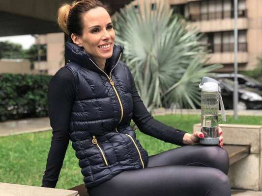 Ana Furtado explicou como são seus treinos durante o tratamento contra câncer, em seu Instagram, nesta sexta-feira, 28 de junho de 2018