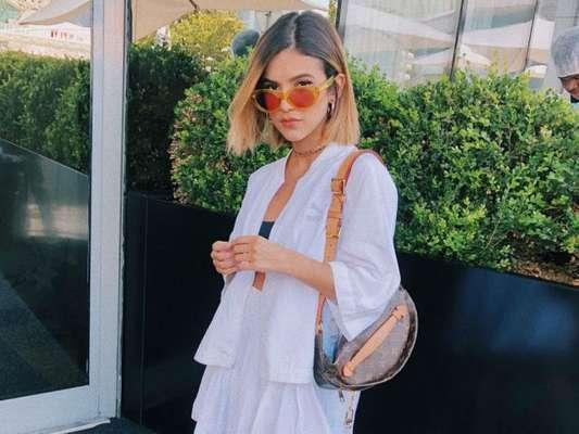 Manu Gavassi rebateu críticas sobre o corpo magro em post no Instagram nesta segunda-feira, 3 de julho de 2018