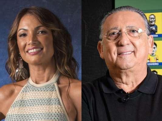 Patricia Poeta lembra 'fake news' envolvendo Galvão Bueno em postagem nesta quinta-feira, dia 05 de julho de 2018