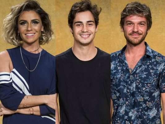 Na novela 'Segundo Sol', Valentim (Danilo Mesquita) flagrará Luzia (Giovanna Antonelli) e Beto (Emilio Dantas) juntos no capítulo que vai ao ar dia 02 de agosto de 2018