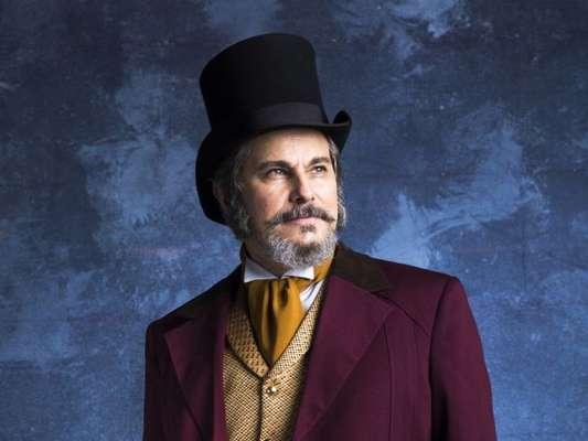 Edson Celulari descarta perfil abolicionista de seu personagem na novela 'O Tempo Não Para', que estreia dia 31: 'Defendia o imperador'