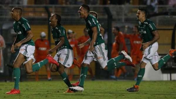Último jogo: 27/03/2018 - Palmeiras 1(5) x (3)2 Santos - Campeonato Paulista