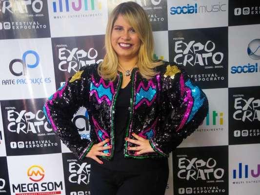Marília Mendonça fez show no Festival Expocrato 2018, no Ceará, nesta quinta-feira, 19 de julho de 2018