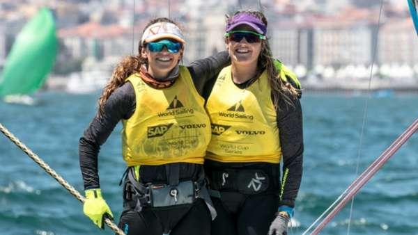 Martine Grael e Kahena Kunze estão de volta às competições de 49erFX
