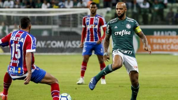 No Brasileirão deste ano, o Palmeiras venceu no Allianz Parque por 3 a 0