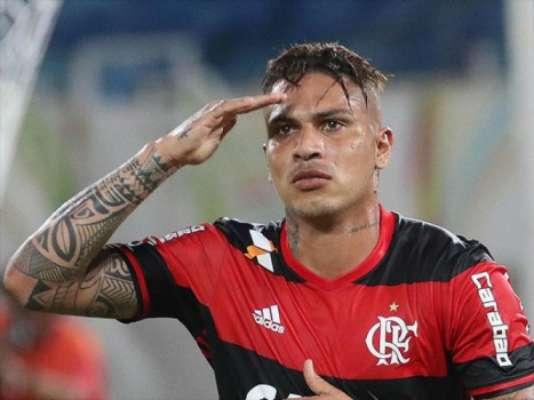 Confira imagens da passagem de Guerrero pelo Flamengo