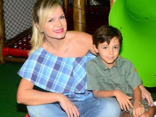 Eliana homenagou o filho, Arthur, por seu aniversário de 7 anos em seu Instagram, nesta sexta-feira, 10 de agosto de 2018