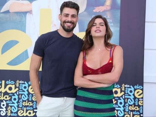 Mariana Goldfarb comentou o fim de namoro com Cauã Reymond nesta sexta-feira, 10 de agosto de 2018