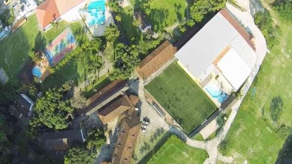 Imagens do projeto do novo CT do Botafogo