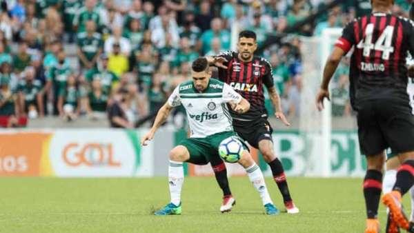 Último confronto: Atlético-PR 1 x 3 Palmeiras - 6/5/2018