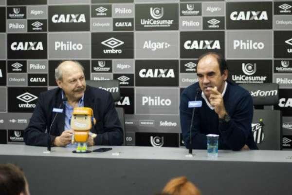 Ricardo Gomes foi contratado para gerenciar o futebol do Santos, mas não durou no cargo