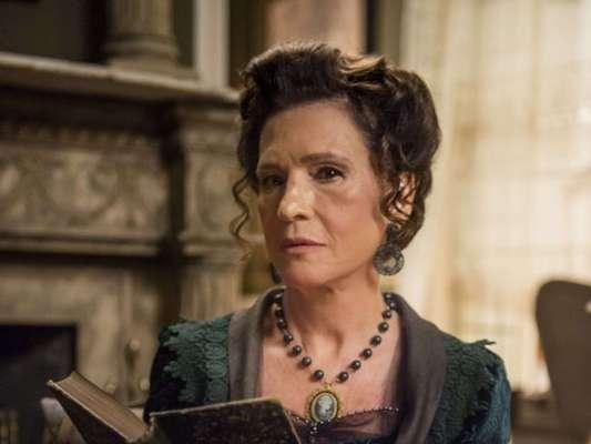 Lady Margareth (Natália do Vale) ordena explosão na inauguração de ferrovia de Darcy (Thiago Lacerda) nos últimos capítulos da novela 'Orgulho e Paixão'